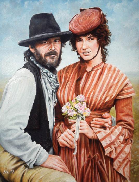 Mary Steenburgen, Jack Nicholson by vanKristen